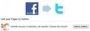 automatiser facebook twitter